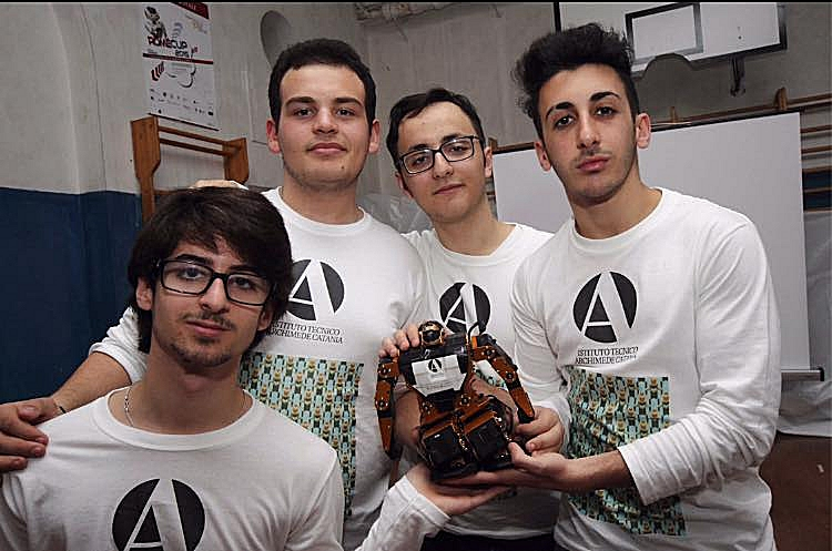 Team2015_ITArchimede_online_Cospace_Rescue